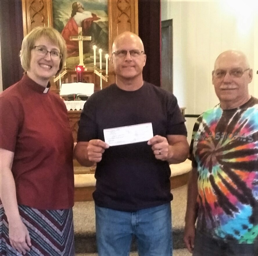 Bethel Boogie Donates to the Iron Hawks